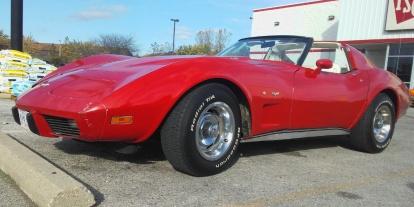 Corvette front fender
